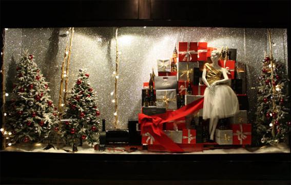 圣诞节店铺陈列的5个建议