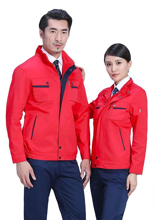 红色夹克工服