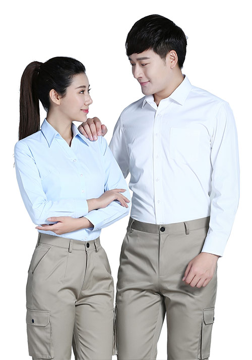 定做纯棉长袖衬衫